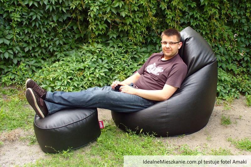 Admin Paweł w ogrodzie - model Amaki BIGelegant