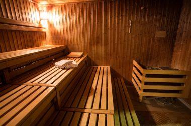 sauna drewniana