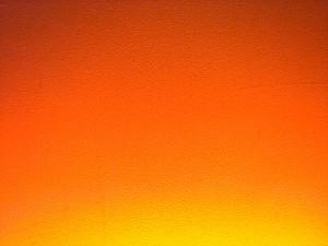 Pomarańczowa ściana