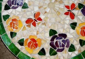 Mozaika na talerzu